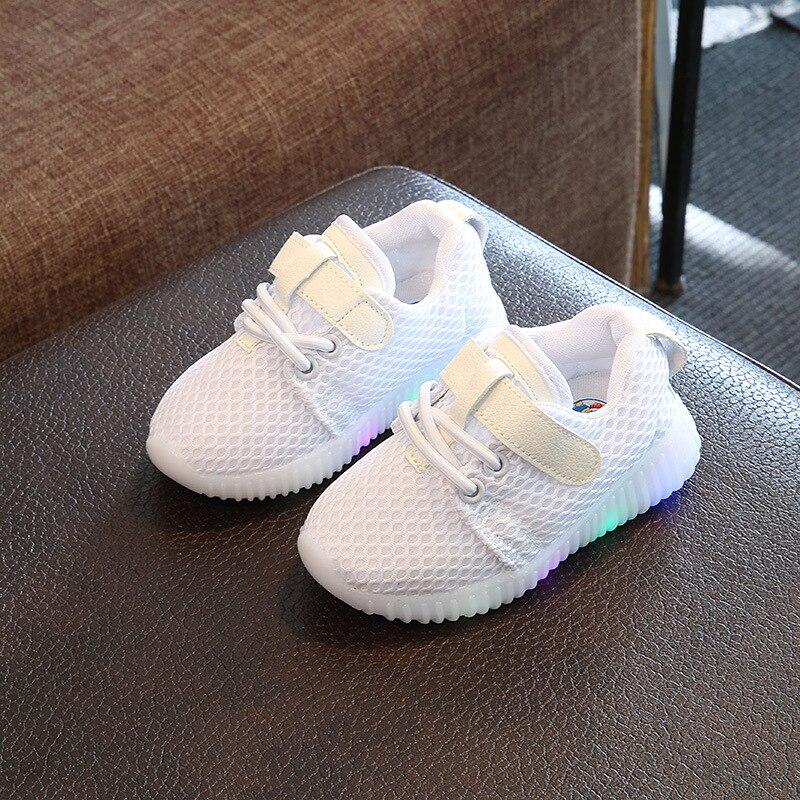 quality design 5a0be 5c1e6 New spring 2018 children's shoes vapormax LED light sports ...