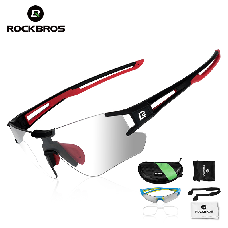 ROCKBROS Photochromic Cycling Glasses Bike Bicycle Glasses Sports Men's Sunglasses MTB Road Cycling Eyewear Protection Goggles inbike 2017 cycling glasses gafas ciclism nxt lens uv400 proof bike eyewear goggles mtb road bicycle photochromic sunglasses