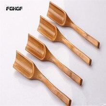 Новая натуральная бамбуковая чайная ложка меда соуса Suger деревянные ложки для кофе совок чайная посуда кухонные принадлежности Посуда