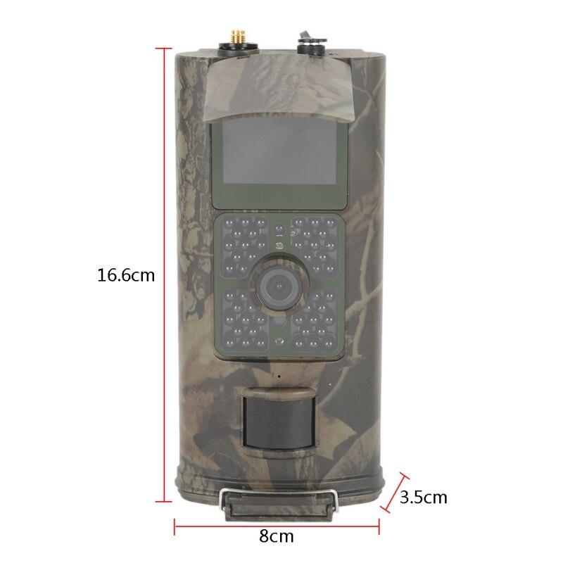 Caméra de chasse extérieure HC700G 16MP caméra de chasse de sentier 3G GPRS MMS SMTP SMS 1080 P Vision nocturne 940nm infrarouge