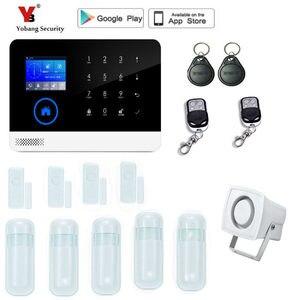 Image 4 - Yobang การรักษาความปลอดภัยไร้สาย gsm ระบบเตือนภัยจอแสดงผล TFT เซ็นเซอร์ประตูระบบรักษาความปลอดภัยภายในบ้านไร้สายชุดไซเรน