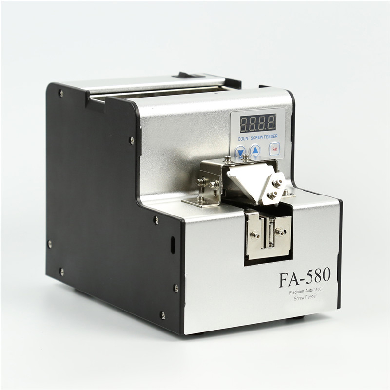 FA 580 BateRpak Precisione di conteggio automatico coclea di alimentazione, vite contatore, distributore automatico, con cicalino di allarme. - 6