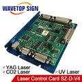 JCZ USB лазерная карта управления SZ-D-V4 использования для CO2 лазерного модуля YAG лазерный модуль UV лазерный модуль мощность 5V3A цифровой сигнал