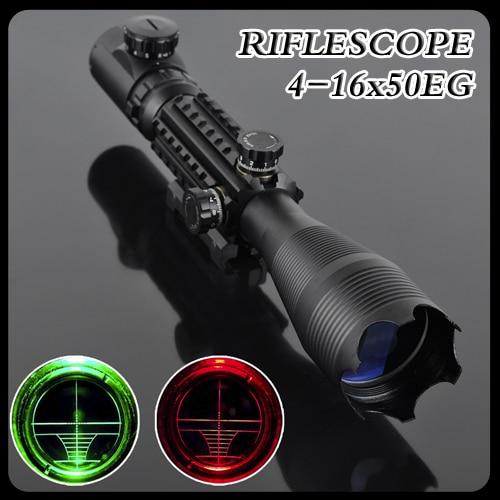 Pro 4-16X50EG LLL Night Vision Scopes Air soft Rifle Gun Riflescope Hunting Telescope Sight High Reflex Sight Gunsight pistola цены