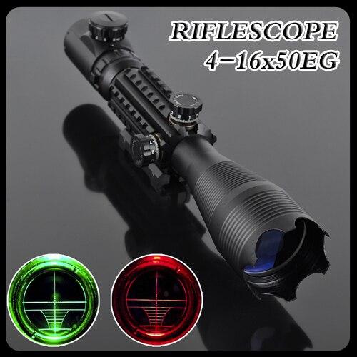 Pro 4-16X50EG LLL Night Vision Scopes Air soft Rifle Gun Riflescope Hunting Telescope Sight High Reflex Sight Gunsight pistola