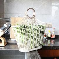 Eco friendly Plastic Storage Basket Kitchen Containers Shopping Basket Vegetable Storage Basket Fruit Basket Storage Food