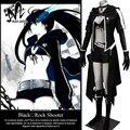 Новейшие современные необычные костюмы косплей аниме BLACK ROCK SHOOTER Мату Kuroi косплей костюм Хэллоуин костюмы для взрослых женщин