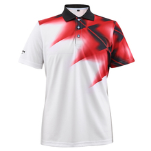2017 PGM Men's Golf T-shirt Golf Apparel Breathable Elastic Golf Short Sleeve Polo Shirt Men Tshirt Printed Tees High Quality(China)