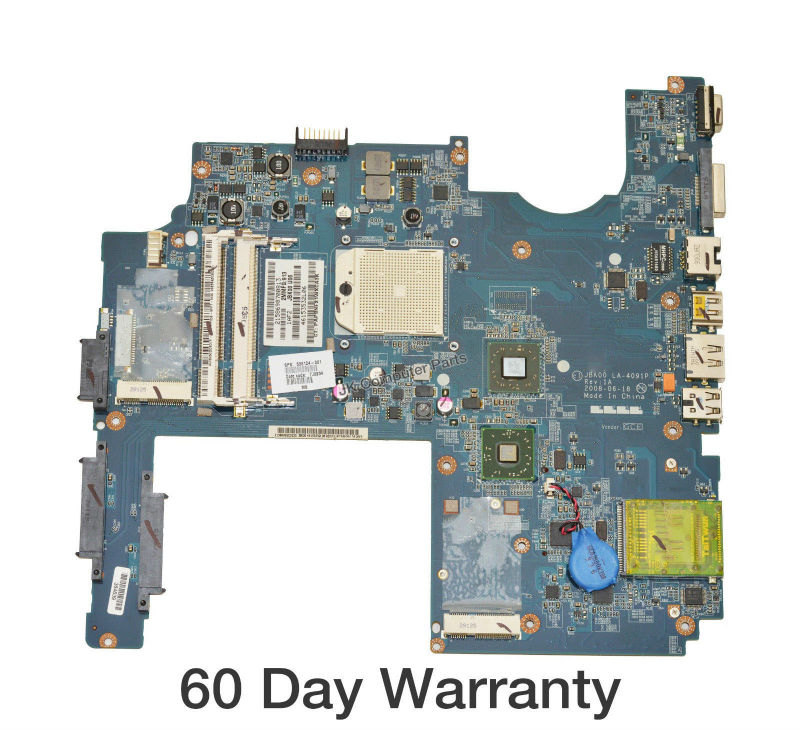 Top quality , For HP laptop mainboard LA-4091P 506124-001 DV7 DV7-1000 laptop motherboard,100% Tested 60 days warranty for hp dv7 615687 001 laptop motherboard mainboard ddr3 100