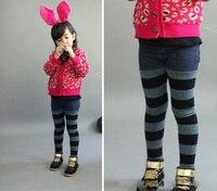 아기 여자 바지 여름 스타일 어린이 의상 높은 품질의 격자 무늬 아이 옷 브랜드 수입 빈티