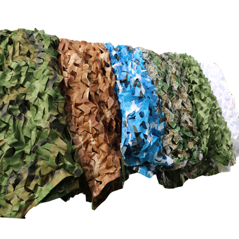 Outdoor Military Camouflage Nets Camo Net Car Cover Army Camping Hiking Sun Shelter Tent Hunting Equipment
