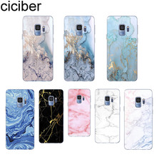 Ciciber Marble For Samsung Galaxy S8 S9 S5 S7 S6 Edge Plus mini Soft Silicone Back Cover TPU Phone Cases Capinhas Coque