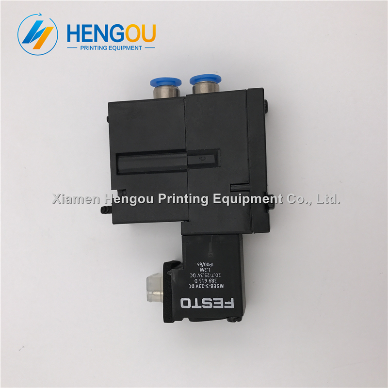 5 pieces Heidelberg valve M2.184.1121/05 MEBH-4/2-QS-6-SA offset printing machine parts 20 pieces free shipping heidelberg printing machine spare parts feeder wheel size 60 8mm