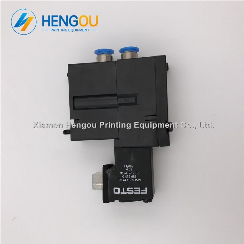10 pieces offset SM52 SM74 SM102 Solenoid Valve M2.184.1121/05 MEBH-4/2-QS-6-SA offset printing machine parts