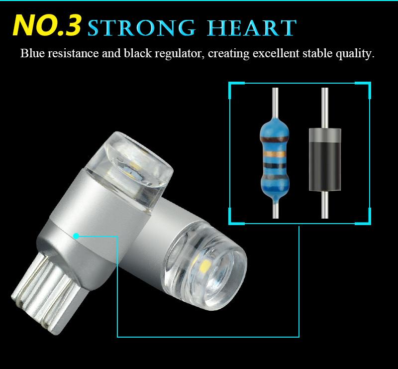 NAO T10 LED W5W LED (7)