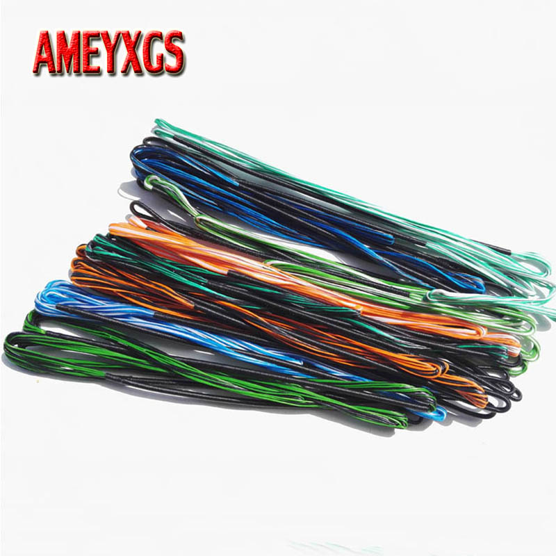 1pc Archery Recurve Bow String 16 Strands Traditional Longbow Replacement Bowstring Outdoor Sports Hunting Shooting Accessories in Bow Arrow from Sports Entertainment
