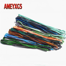 1pc Archery Recurve Bow String 16 Strands Traditional Longbow Replacement Bowstring Outdoor Sports Hunting Shooting Accessories стоимость