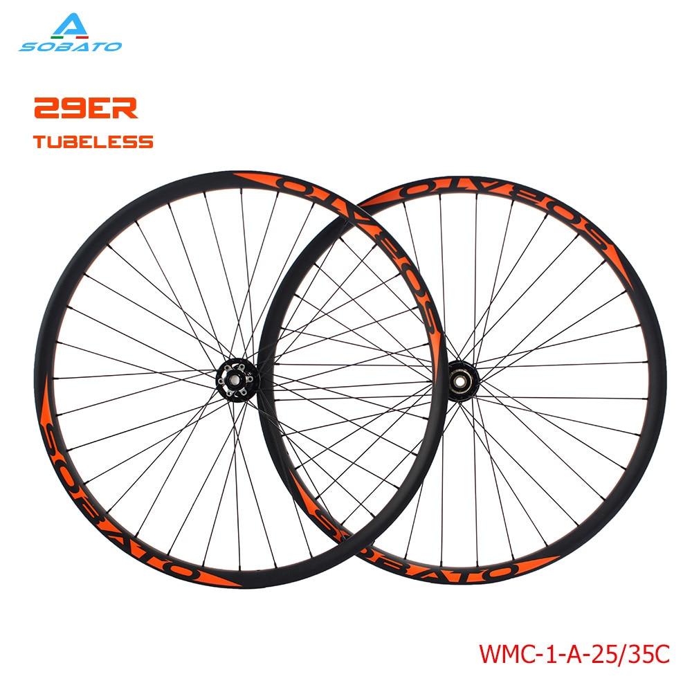29er MTB XC super light straight pull carbon wheels hookless 3K glossy hubs mountain bike race wheelse  29