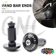 Motorcycle Handlebar Grips Ends Handle Hand Bar Ends Handlebar Caps For Suzuki GSXR 600 750 1000 K3 K4 K5 K6 K7 K8 GSX R 600 750 все цены