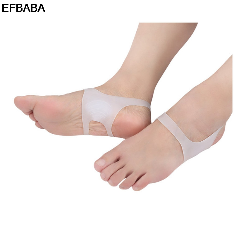 EFBABA Silicone Insole Orthopedic Insoles O-type Leg Foot Valgus Correction No Slip Men Women Shoe Insole Accessoire Chaussure o x leg correction half insoles inner outer eight foot orthopedic correction silicone heel pad for men women 5 pairs lot vc3550