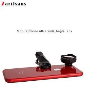 Image 2 - 7artisans süper geniş açı distorsiyon ücretsiz cep telefonu lens Apple Huawei xiaomi cep telefonu evrensel kamera harici HD lens