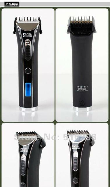 hair clipper Intelligent electric quick charging  Paiter G-9901 Baby Adult Rechargeable Personal Care Barber Scissors