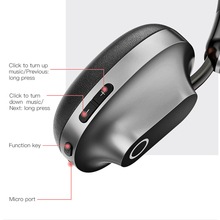 Baseus D01 Young Attitude Bluetooth Stereo Headphone with Microphone