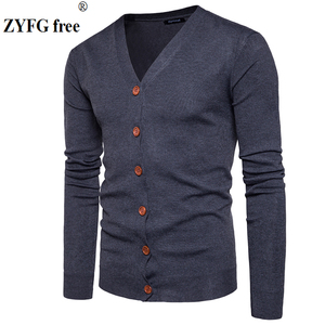 Men Button cardigans Sweaters 2019 New C