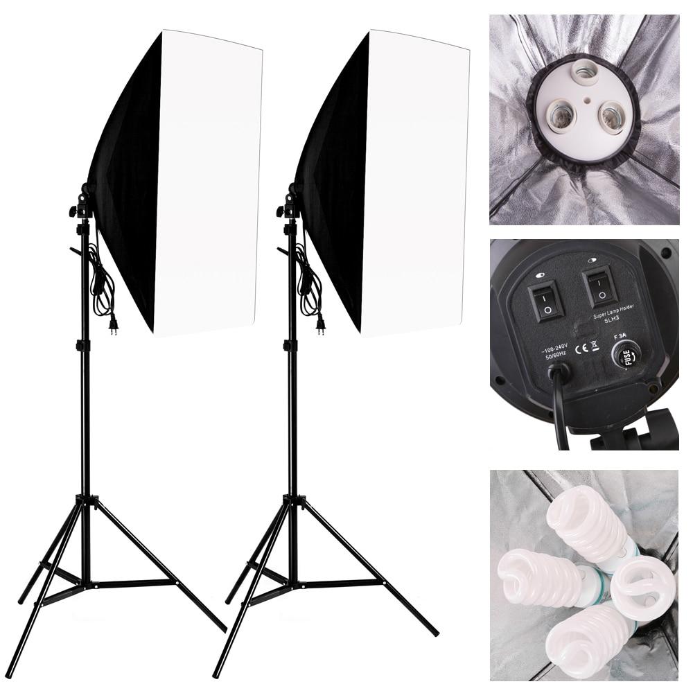 New 2016  Photography Softbox Light Kit Photo Equipment  2PCS*2M Tripod Light Stand + 2PCS*Softbox +2PCS* Lamp HolderNew 2016  Photography Softbox Light Kit Photo Equipment  2PCS*2M Tripod Light Stand + 2PCS*Softbox +2PCS* Lamp Holder