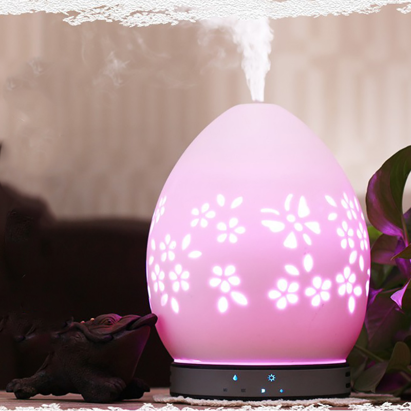 200Ml Essential Oil Aroma Diffuser Colorful Transformation Ultrasonic Air Humidifier Cool Mist Maker Aromatherapy Air Conditio in Humidifiers from Home Appliances