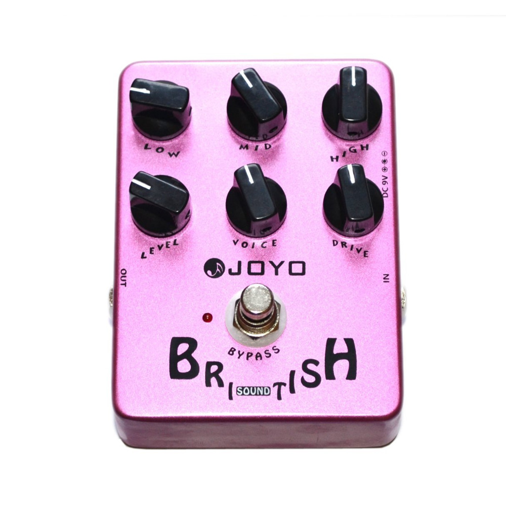 JOYO JF-16 Guitar Pedal British Sound Effect Pedal Amplifier Simulator Get Tones Inspired By Marshall Amps