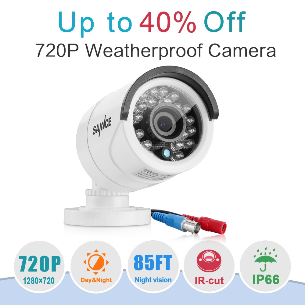 SANNCE 720P AHD CCTV Camera 1 0MP Home Security Smart Surveillance Camera Baby Monitor Network Mobile