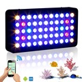 WIFI 165w marine aquarium led lighting Dimmable Full Spectrum led aquarium light for coral reef fish tank plant stock in USA/DE