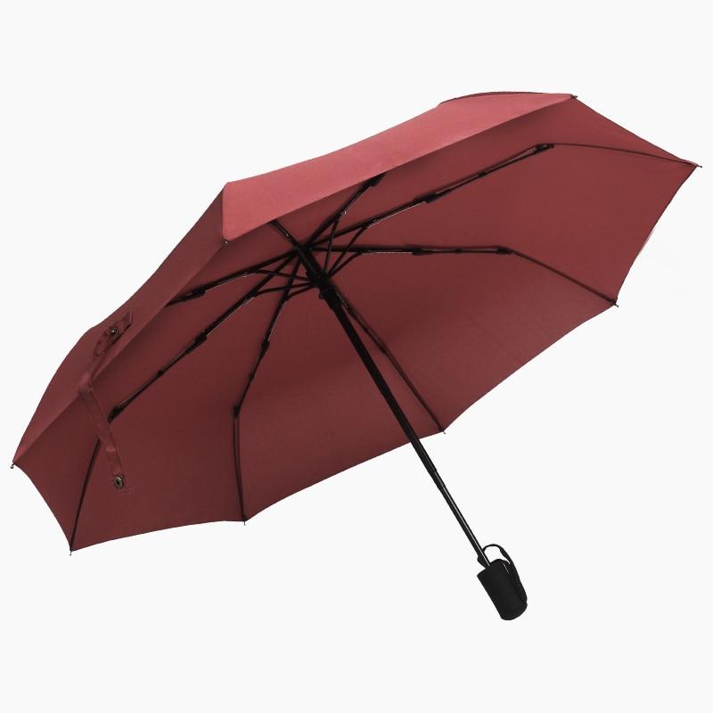 FUNBAKY 3 Folding Wind Resistant Luxury Small Pocket Mini Automatic Umbrella Men Female Folding Rain Woman Male Windproof in Umbrellas from Home Garden