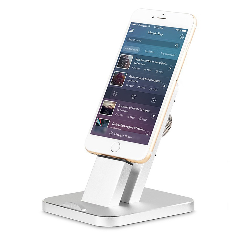 Stand For Ipad Iphone Aluminum Charging Stand Dock Station