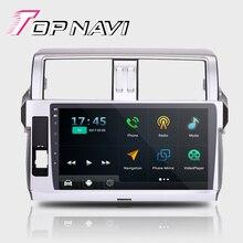 """TOPNAVI 10.1 """"Quad Core 16G Android 6.0 GPS de Navegación para Toyota prado Autoradio Multimedia de Audio Estéreo, NO DVD1G + 16 GB BT"""