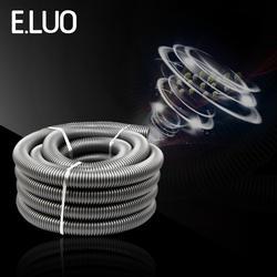 Внутренний диаметр 35 мм внешний 42 мм EVA пылесос сильфон резьбовой шланг Прочный гибкий труба с высокой температурой