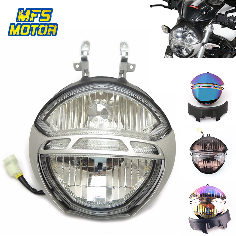 For Ducati Monster 696 659 795 796 1000 1100/S Motorcycle Front Headlight Head Light Lamp Headlamp Assembly