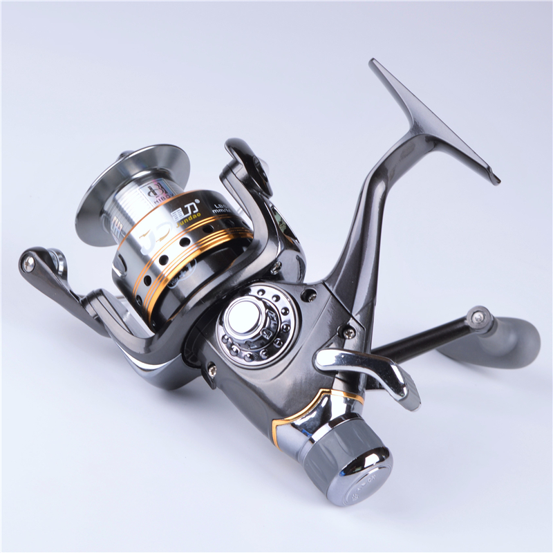 HIBOY J3-40FR front and rear brake systems Spinning Fishing Reel  7 + 1 BB gear ratio 5.5:1 carp bait reel fishing reel mikado ace carp 10007 6 1подш gear ratio 4 7 1 сист своб хода