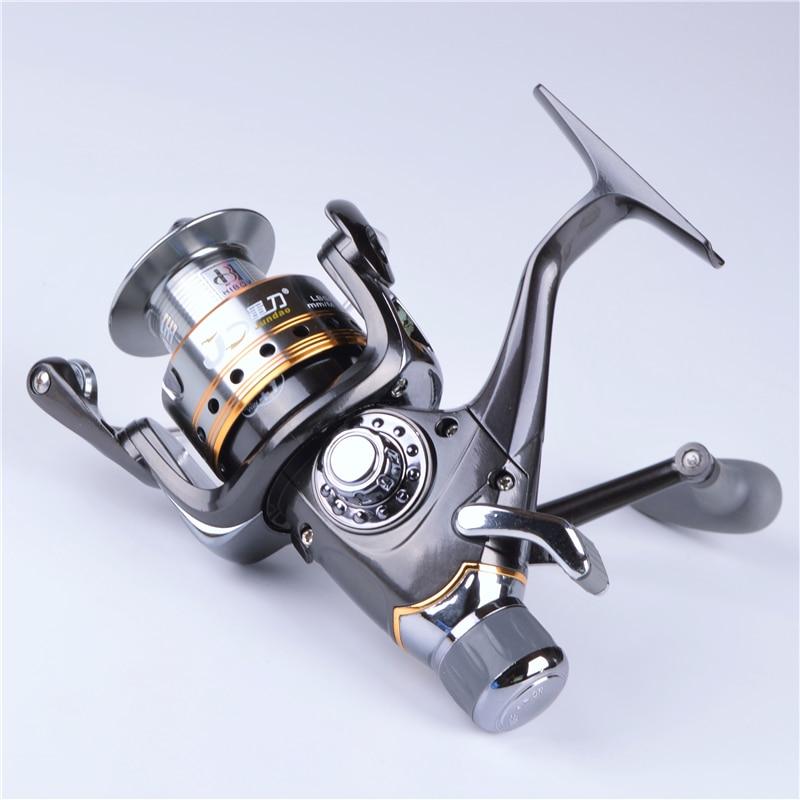 HIBOY J3-40FR front and rear brake systems Spinning Fishing Reel 7 + 1 BB gear ratio 5.5:1 carp bait reel fishing reel