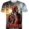 S-2XL 3D Men's T-Shirt Short Sleeve Printed Badass Deadpool Tshirt Homme yeezy O Neck Brand Clothing