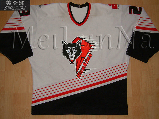 lowest price 90a59 c7a0f US $60.0 |MeiLunNa Custom Q Rouyn Noranda Hockey Huskies Jerseys Pascal  Dupuis Nikita Kucherov Timo Home Road Meier Sewn Any Name NO.Size-in Hockey  ...