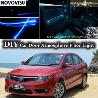 NOVOVISU For Proton Preve O3 21A interior Ambient Light Atmosphere Fiber Optic Band Lights Inside Door Panel illumination Tuning