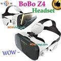 Excelentes óculos de realidade virtual vr bobo z4/bobo óculos google papelão vr vr z4 mini 3d caixa de fone de ouvido para 4.0-6.0 'smartphone