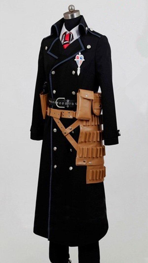 где купить New Ao no Exorcist Blue Exorcist Okumura Yukio Cosplay no Blue Exorcist Yukio Okumura Costume дешево