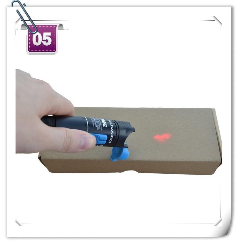 1 mw (5 mw 10 mw 15 mw 20 mw 30 mw) Rødt laser lysfiberoptisk kabel Tester Visual Fault Locator Checker optisk effektmåler til 1-5KM