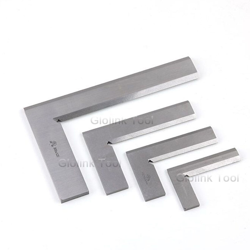 Woodworking Angle Ruler 63mm x 40mm Scale Measurement Tool Beveled Edge Square