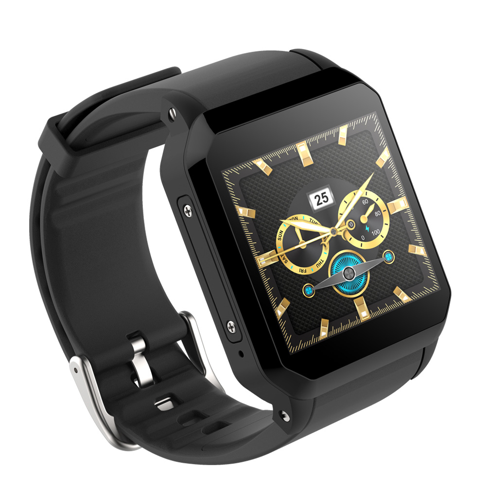 KW06 smart watch support SIM card GPS IP68 waterproof 3G watch heart rate monitoring Bluetooth Watch Android 5.1 OS