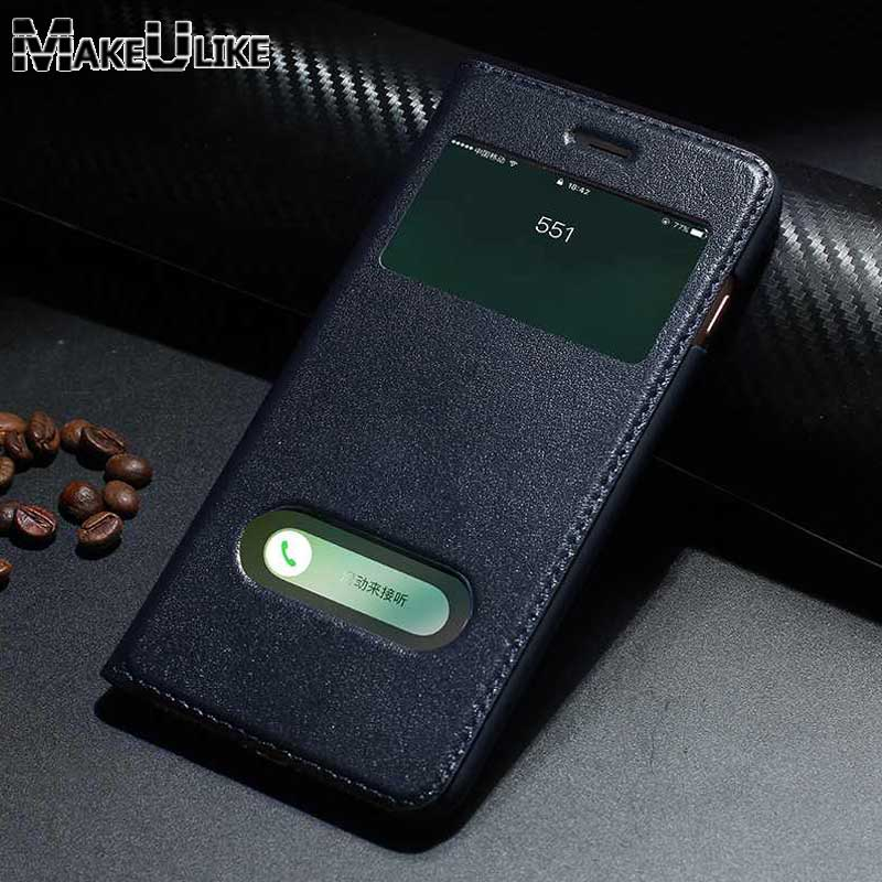 coque iphone 8 plus en cuir fenetre