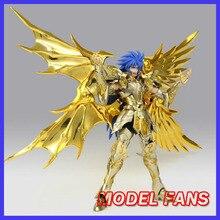 Model Fans Di Saham Greattoys Mainan Besar EX Jiwa Emas GT SOG Gemini Saga Saint Seiya Metal Armor mitos Kain Action Figure